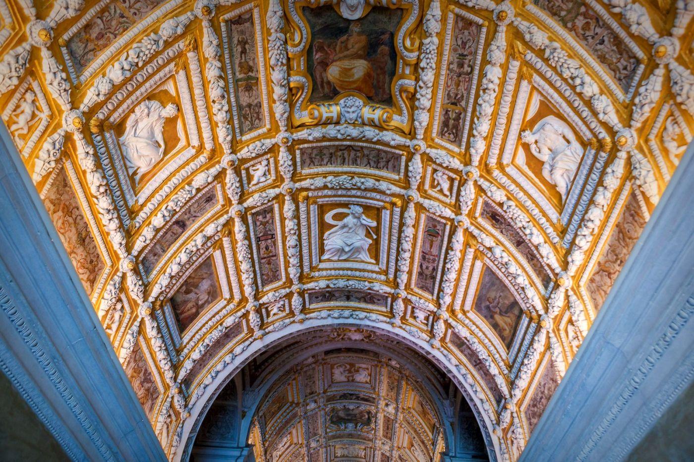 威尼斯圣马可大教堂(St Mark's Basilica), 精雕细琢的顶设_图1-3