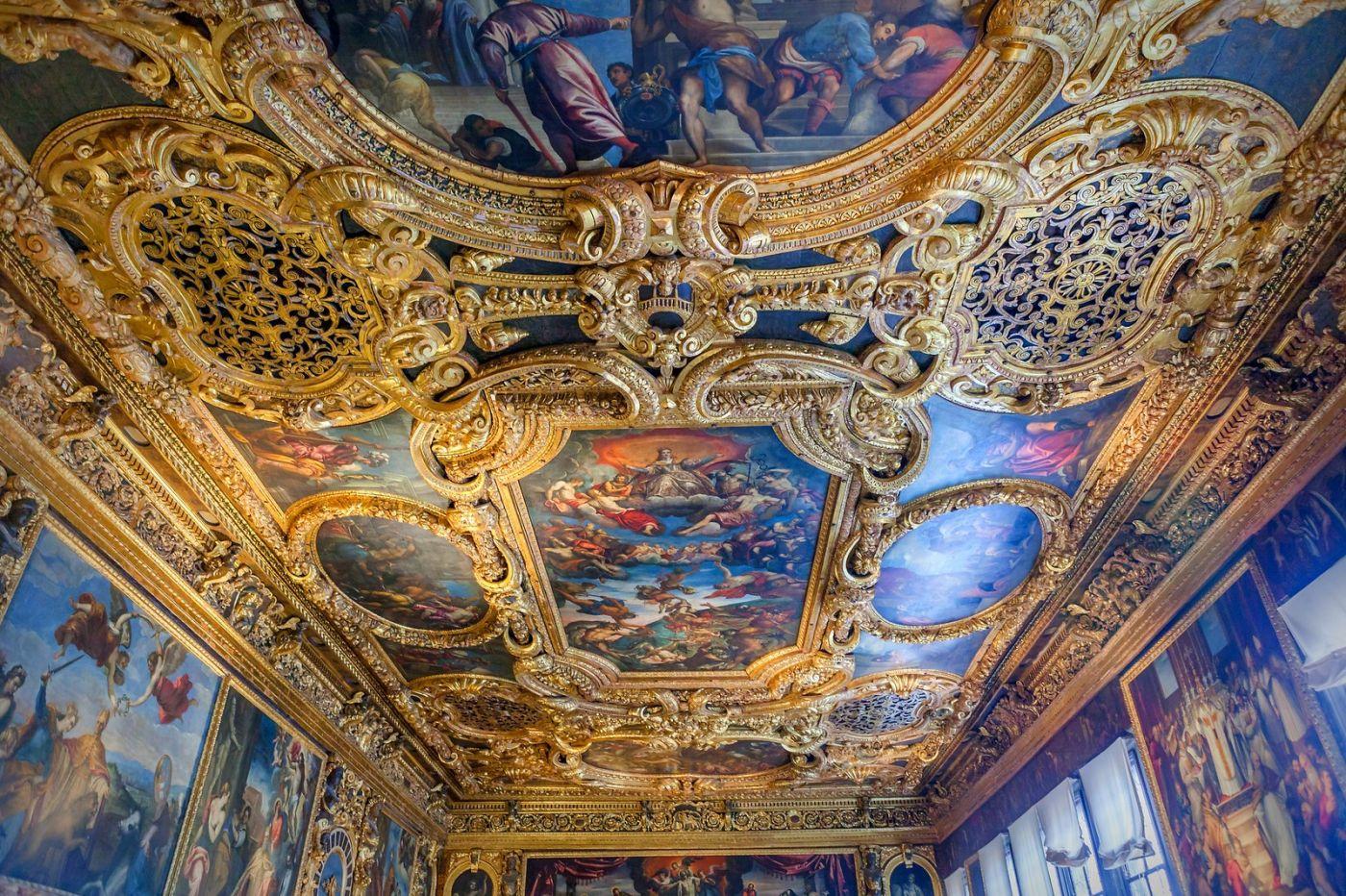 威尼斯圣马可大教堂(St Mark's Basilica), 精雕细琢的顶设_图1-1