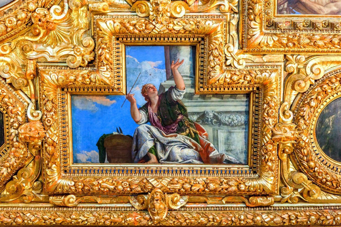 威尼斯圣马可大教堂(St Mark's Basilica), 精雕细琢的顶设_图1-6