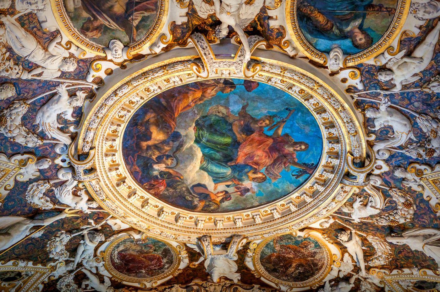 威尼斯圣马可大教堂(St Mark's Basilica), 精雕细琢的顶设_图1-8