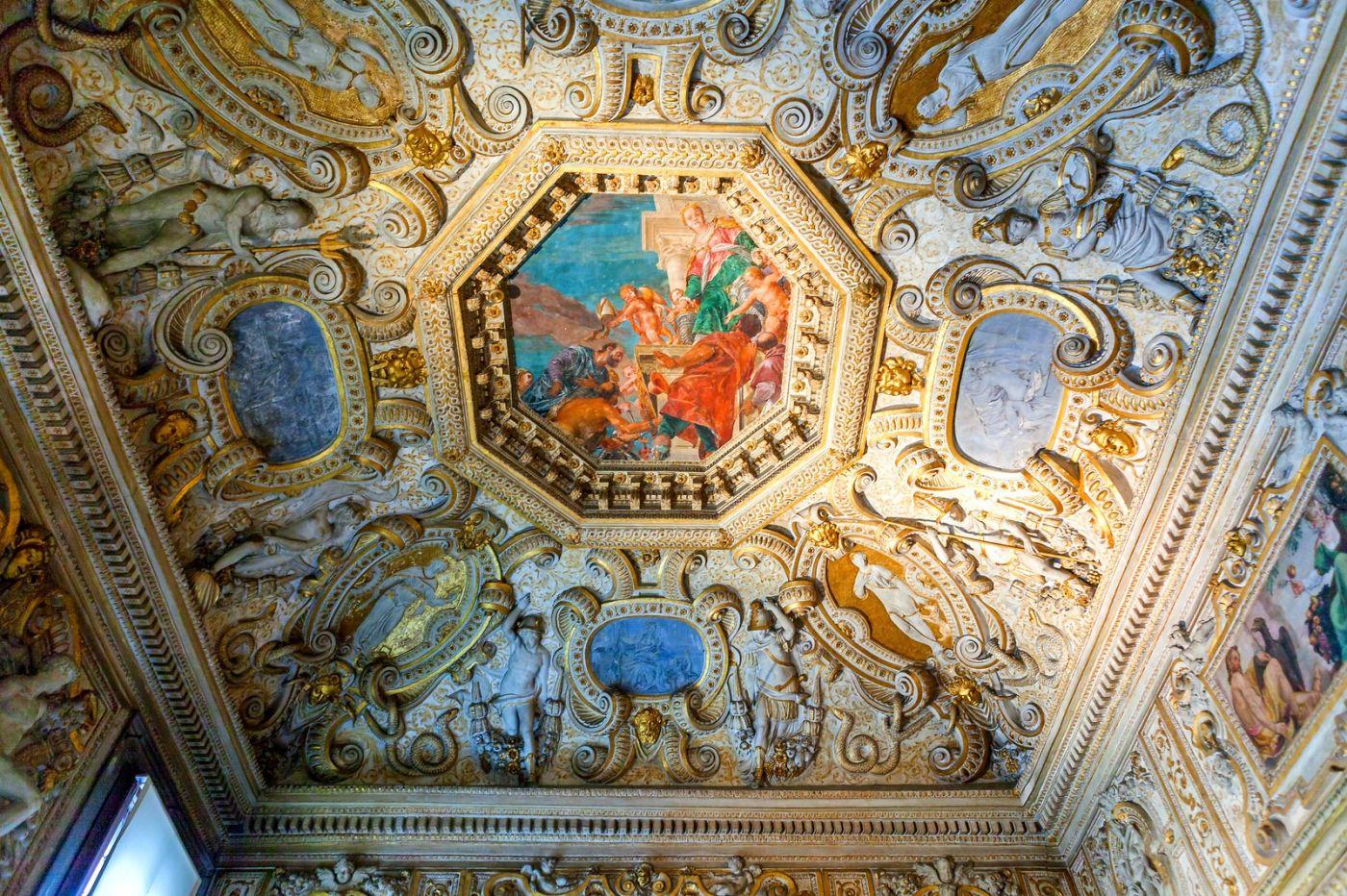 威尼斯圣马可大教堂(St Mark's Basilica), 精雕细琢的顶设_图1-12