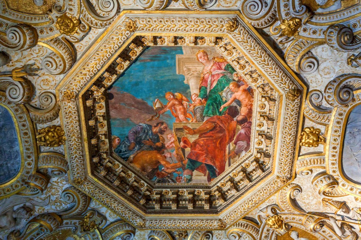 威尼斯圣马可大教堂(St Mark's Basilica), 精雕细琢的顶设_图1-11