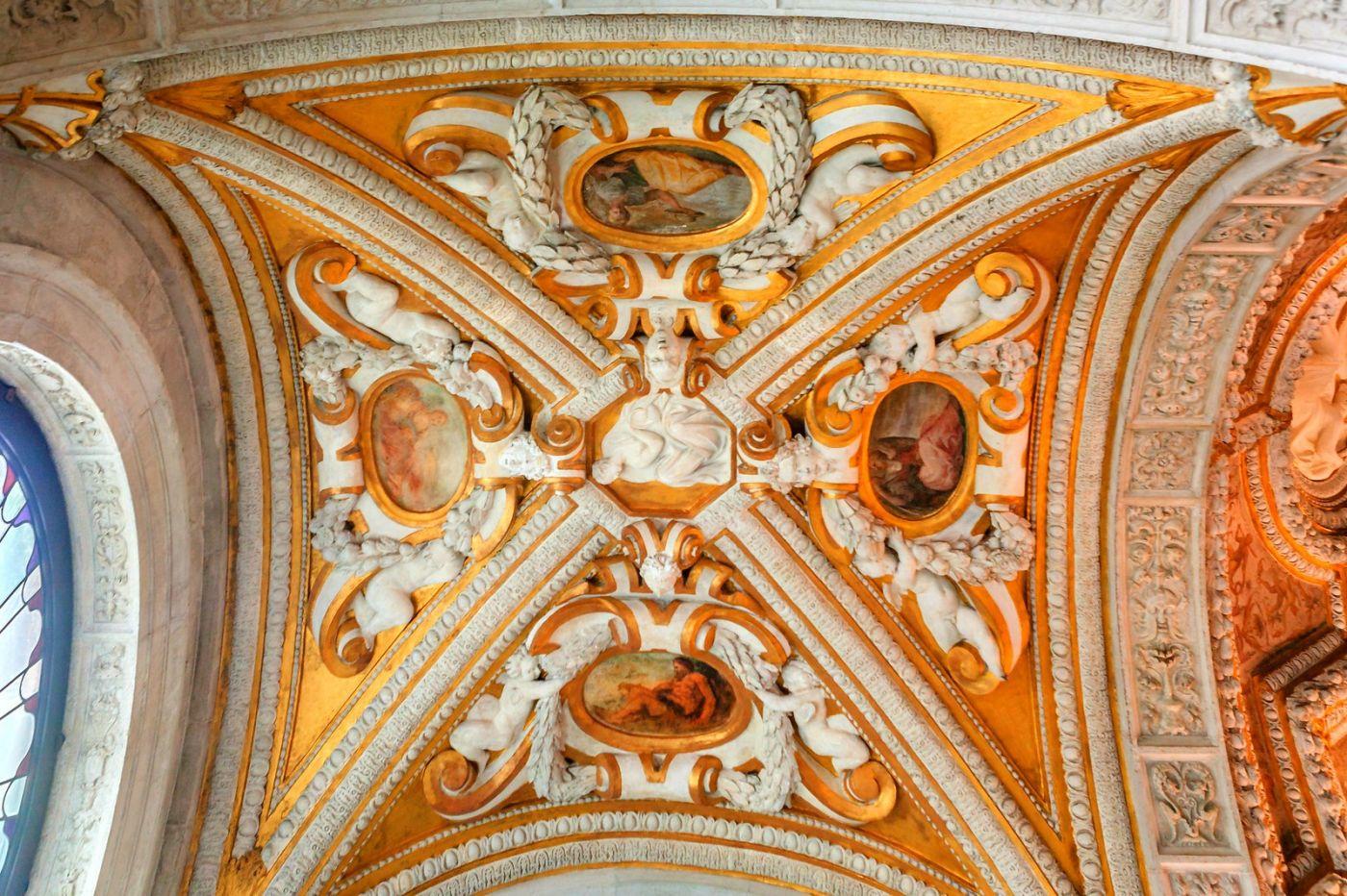 威尼斯圣马可大教堂(St Mark's Basilica), 精雕细琢的顶设_图1-10