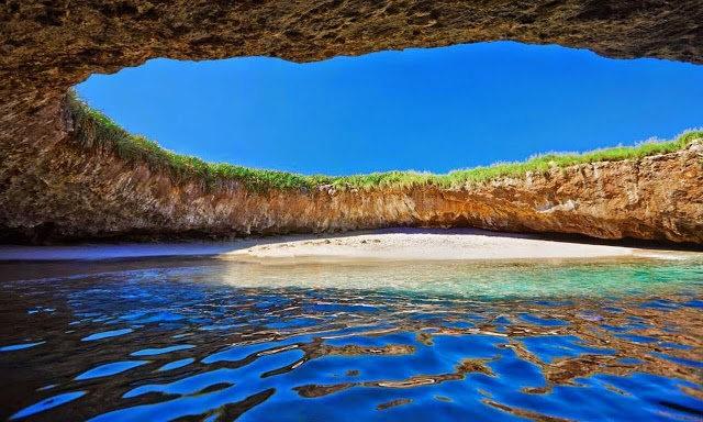 """""""隐藏的海滩""""----墨西哥_图1-1"""