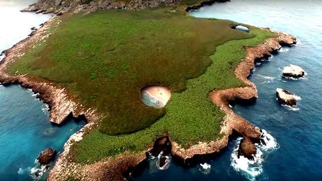 """""""隐藏的海滩""""----墨西哥_图1-4"""