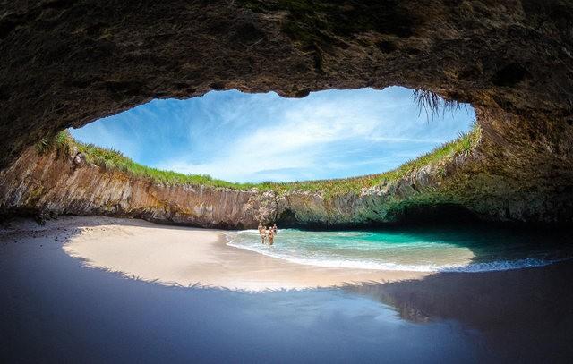 """""""隐藏的海滩""""----墨西哥_图1-5"""