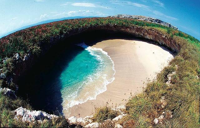 """""""隐藏的海滩""""----墨西哥_图1-6"""