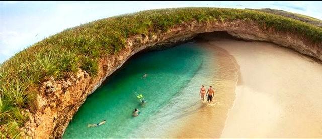 """""""隐藏的海滩""""----墨西哥_图1-7"""