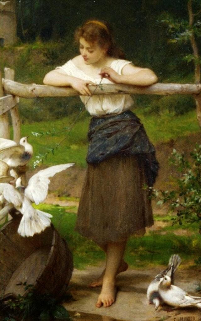 法国画家Emile Munier_图1-3