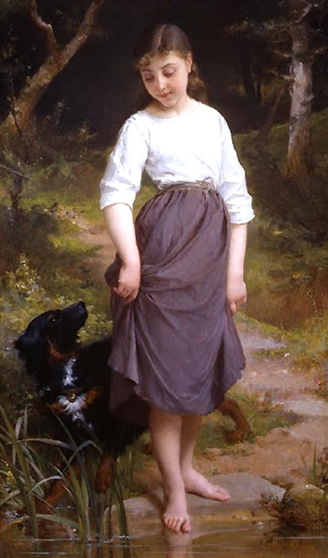 法国画家Emile Munier_图1-4
