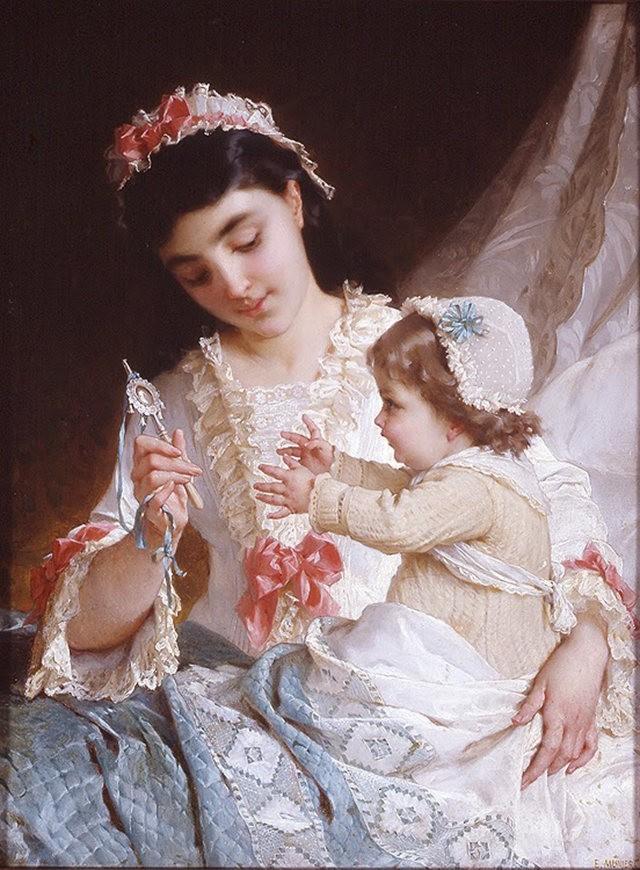 法国画家Emile Munier_图1-6