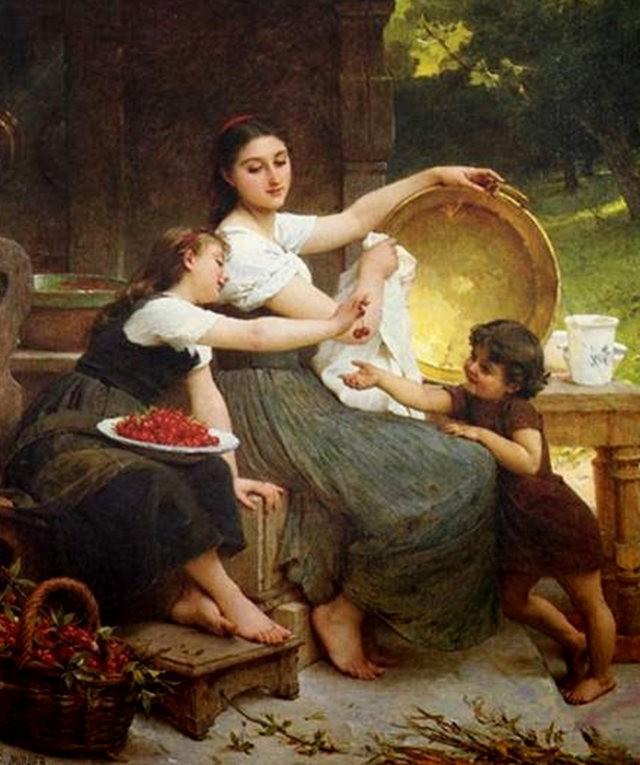 法国画家Emile Munier_图1-7
