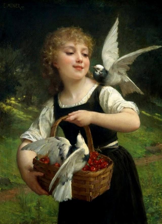法国画家Emile Munier_图1-9