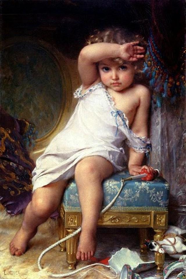 法国画家Emile Munier_图1-10