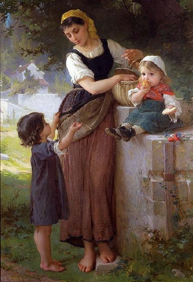 法国画家Emile Munier_图1-11