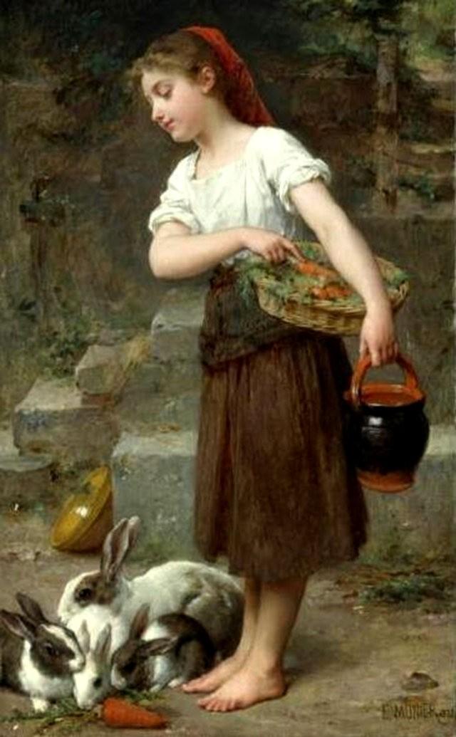 法国画家Emile Munier_图1-13