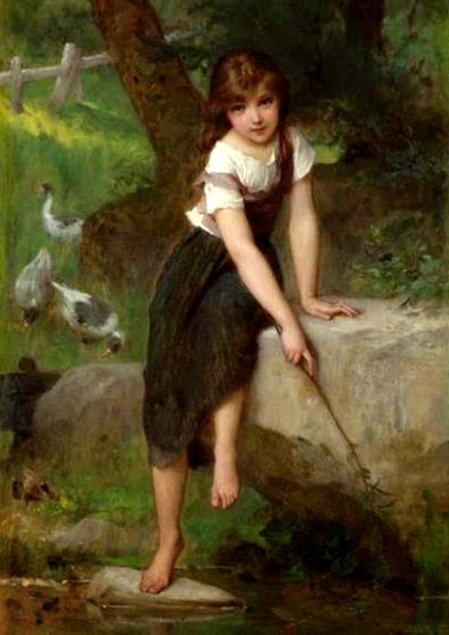 法国画家Emile Munier_图1-14