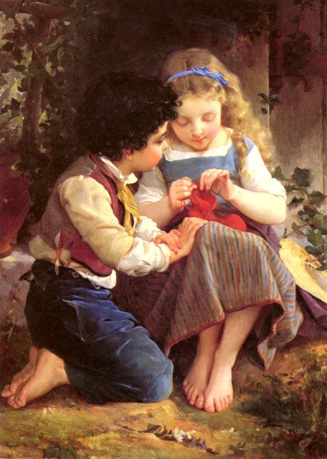 法国画家Emile Munier_图1-15