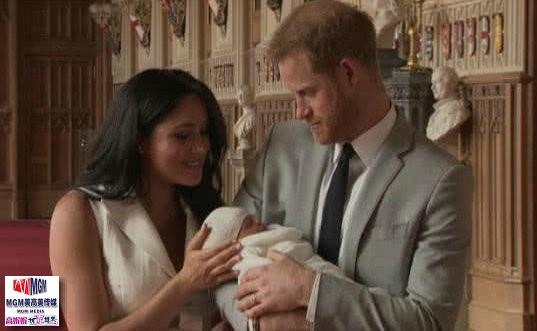 高娓娓:梅根王妃生子,既能当英国国王,又能当美国总统_图1-1