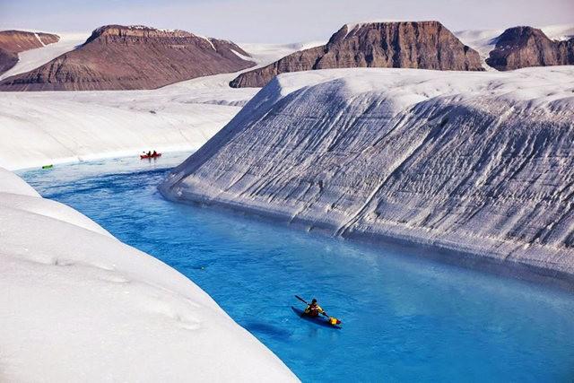 彼得曼冰川----格陵兰的冰河_图1-1