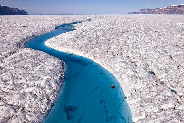 彼得曼冰川----格陵兰的冰河_图1-2