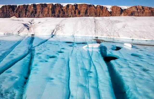 彼得曼冰川----格陵兰的冰河_图1-4