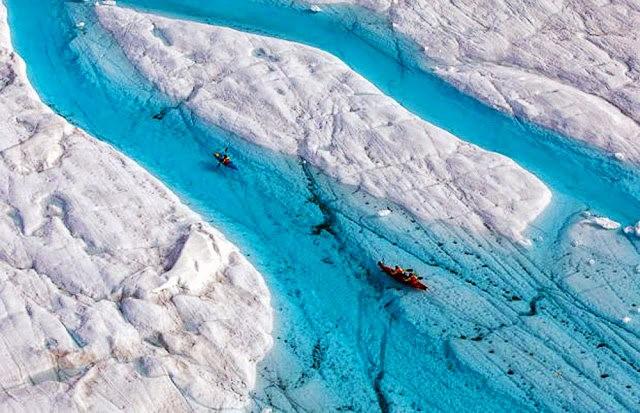 彼得曼冰川----格陵兰的冰河_图1-5