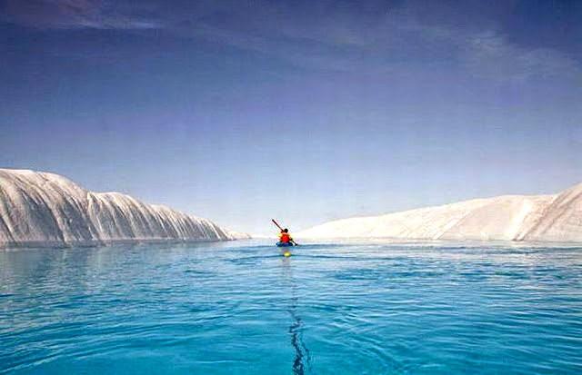 彼得曼冰川----格陵兰的冰河_图1-6