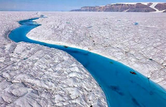 彼得曼冰川----格陵兰的冰河_图1-7