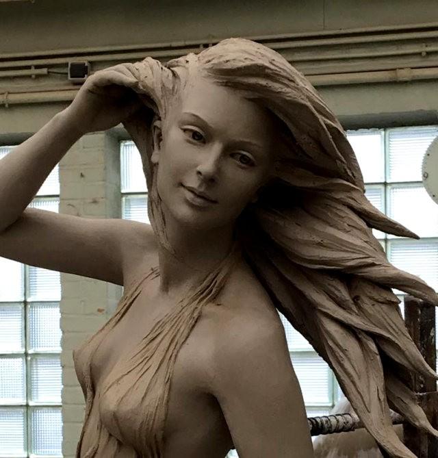 罗丽蓉精彩的雕塑作品_图1-6