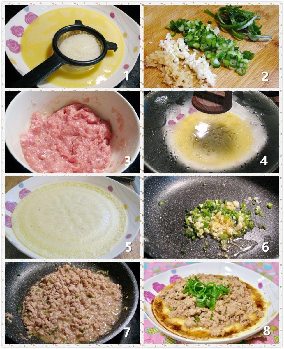 鸡蛋肉末_图1-2