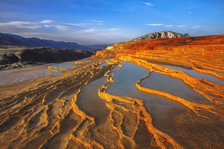 Badab Soort Terraces Springs 热温泉_图1-1
