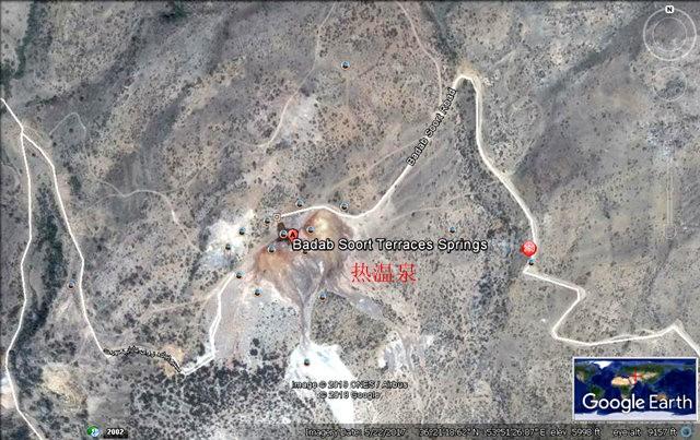 Badab Soort Terraces Springs 热温泉_图1-2