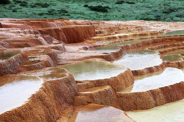 Badab Soort Terraces Springs 热温泉_图1-4
