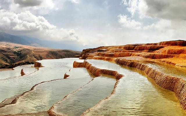 Badab Soort Terraces Springs 热温泉_图1-5