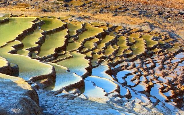 Badab Soort Terraces Springs 热温泉_图1-6