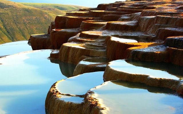 Badab Soort Terraces Springs 热温泉_图1-7