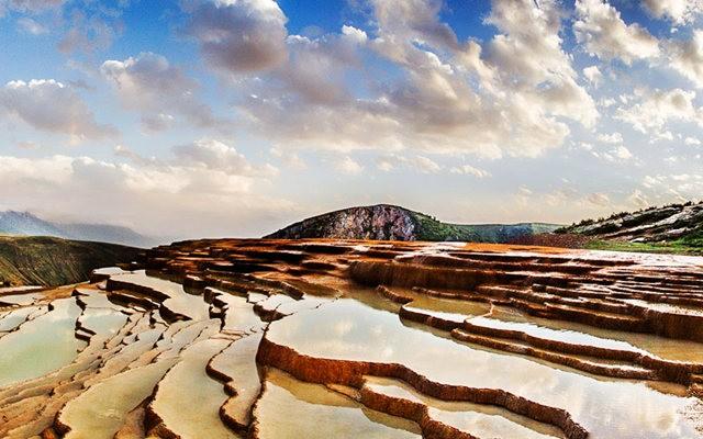 Badab Soort Terraces Springs 热温泉_图1-8