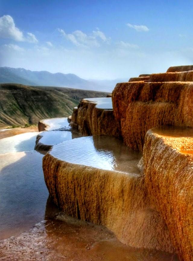 Badab Soort Terraces Springs 热温泉_图1-9