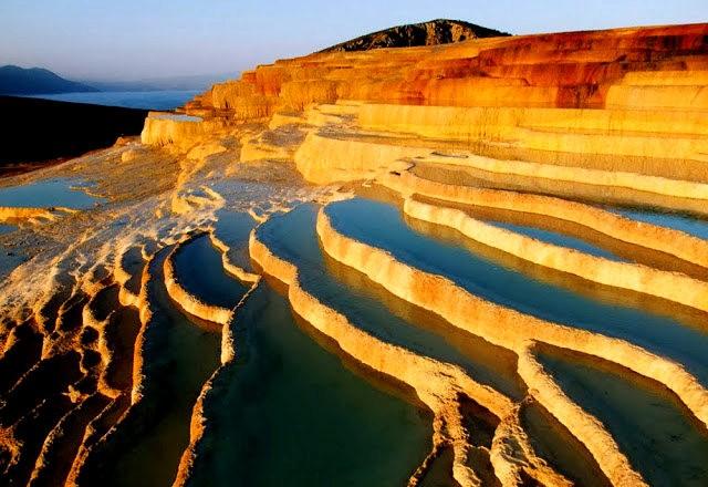 Badab Soort Terraces Springs 热温泉_图1-10