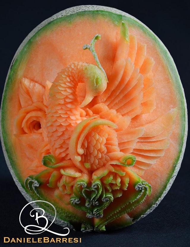 水果雕刻大师Daniele Barresi_图1-6