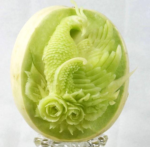 水果雕刻大师Daniele Barresi_图1-7