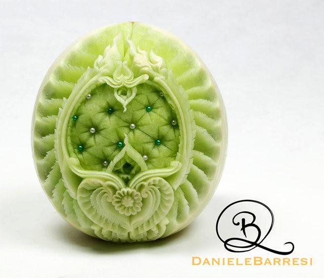 水果雕刻大师Daniele Barresi_图1-8