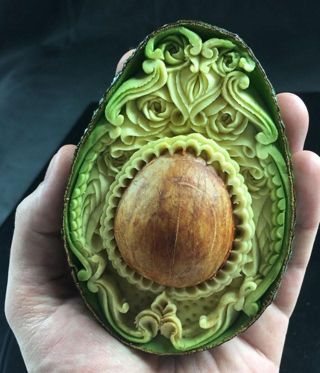 水果雕刻大师Daniele Barresi_图1-9