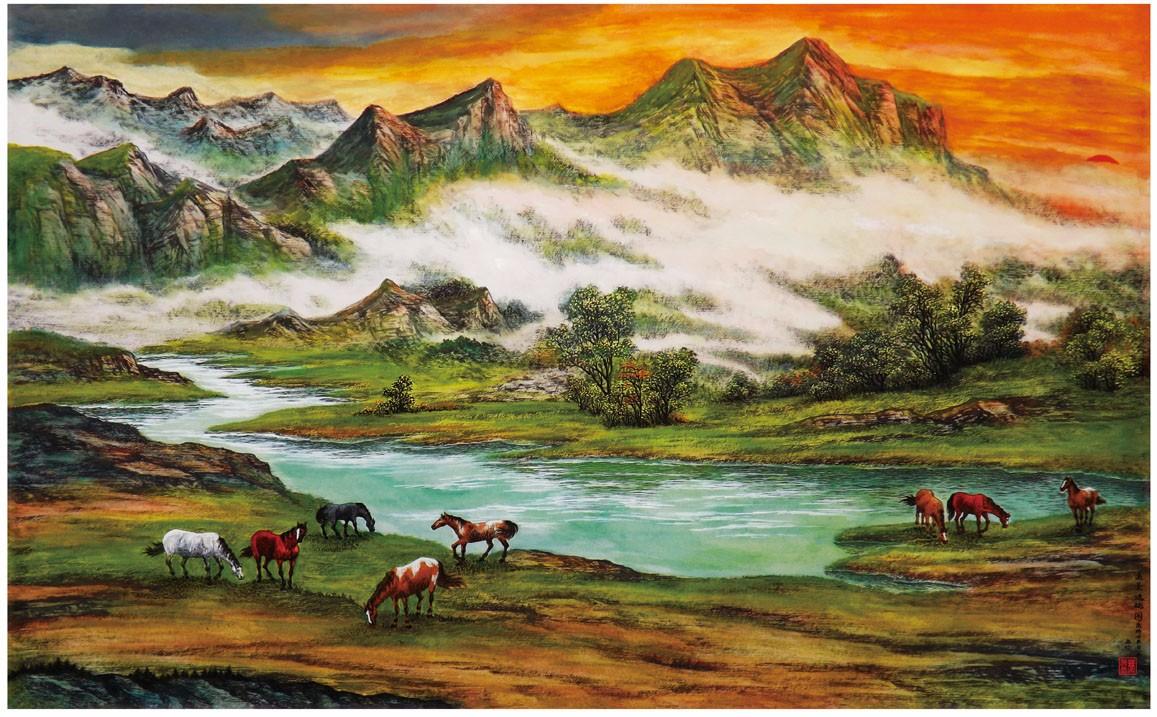 国际著名书画家叶英伦_图1-15