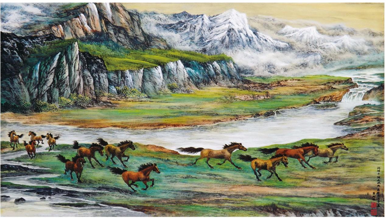 国际著名书画家叶英伦_图1-16