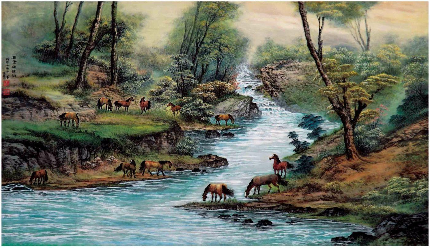 国际著名书画家叶英伦_图1-17