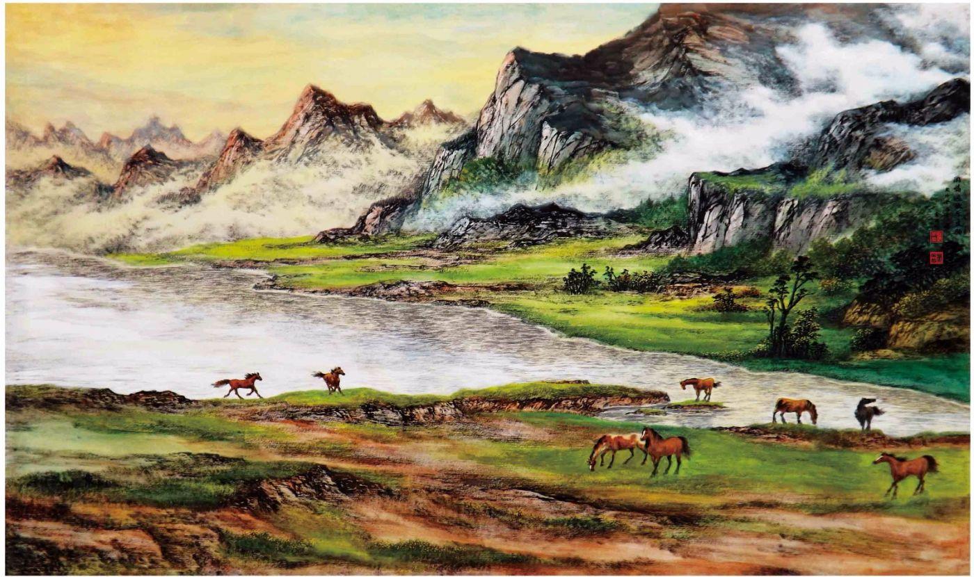 国际著名书画家叶英伦_图1-19