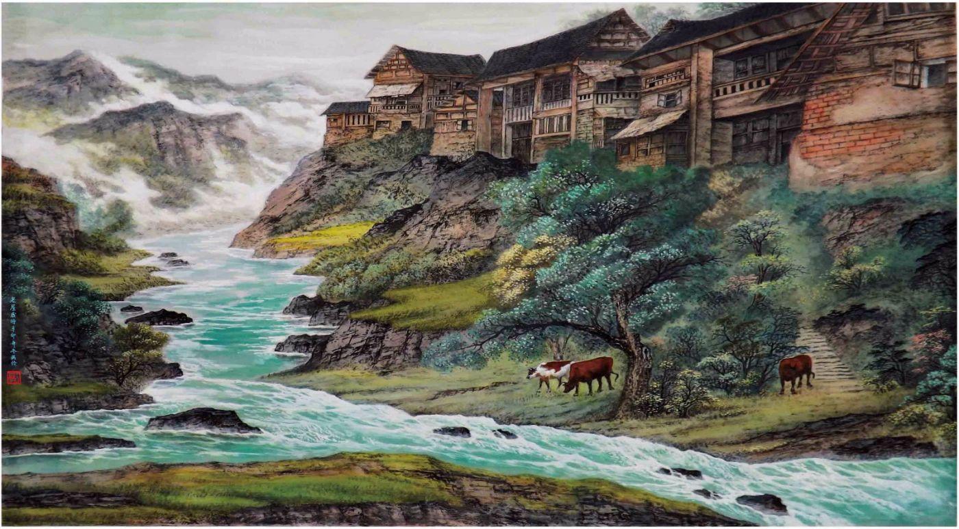 国际著名书画家叶英伦_图1-21