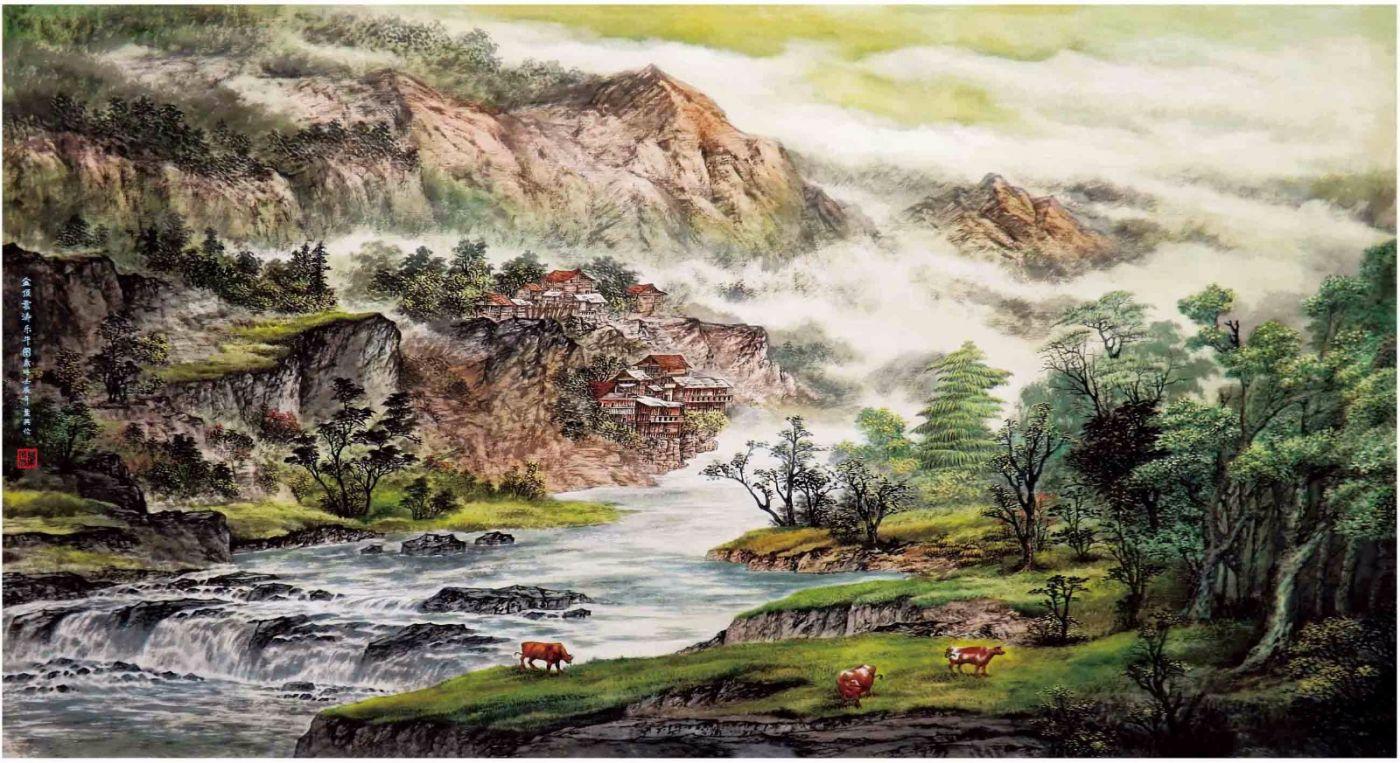 国际著名书画家叶英伦_图1-22